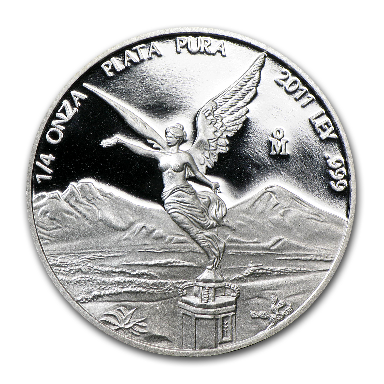 2011 Mexico 1/4 oz Silver Libertad Proof (In Capsule)