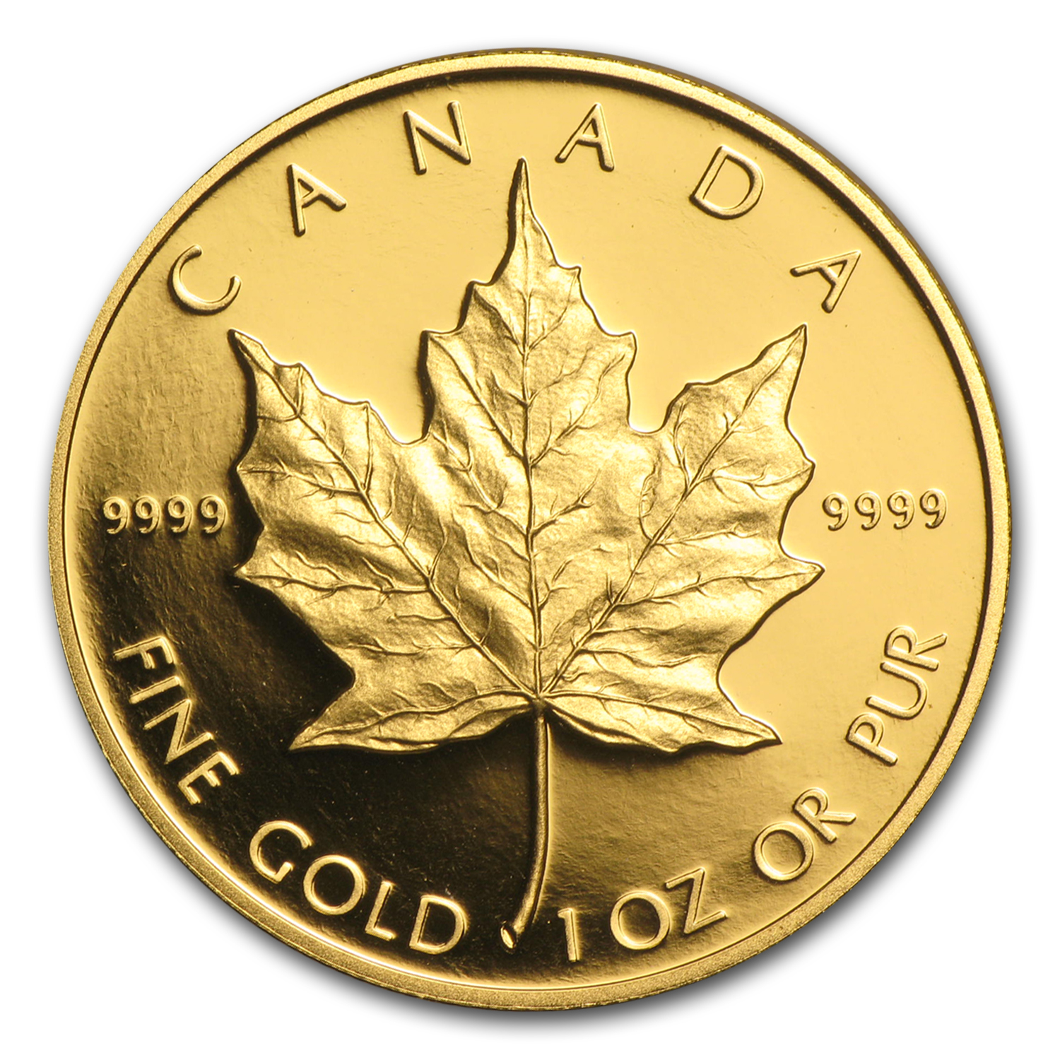 1989 Canada 1 oz Proof Gold Maple Leaf (Capsule Only)