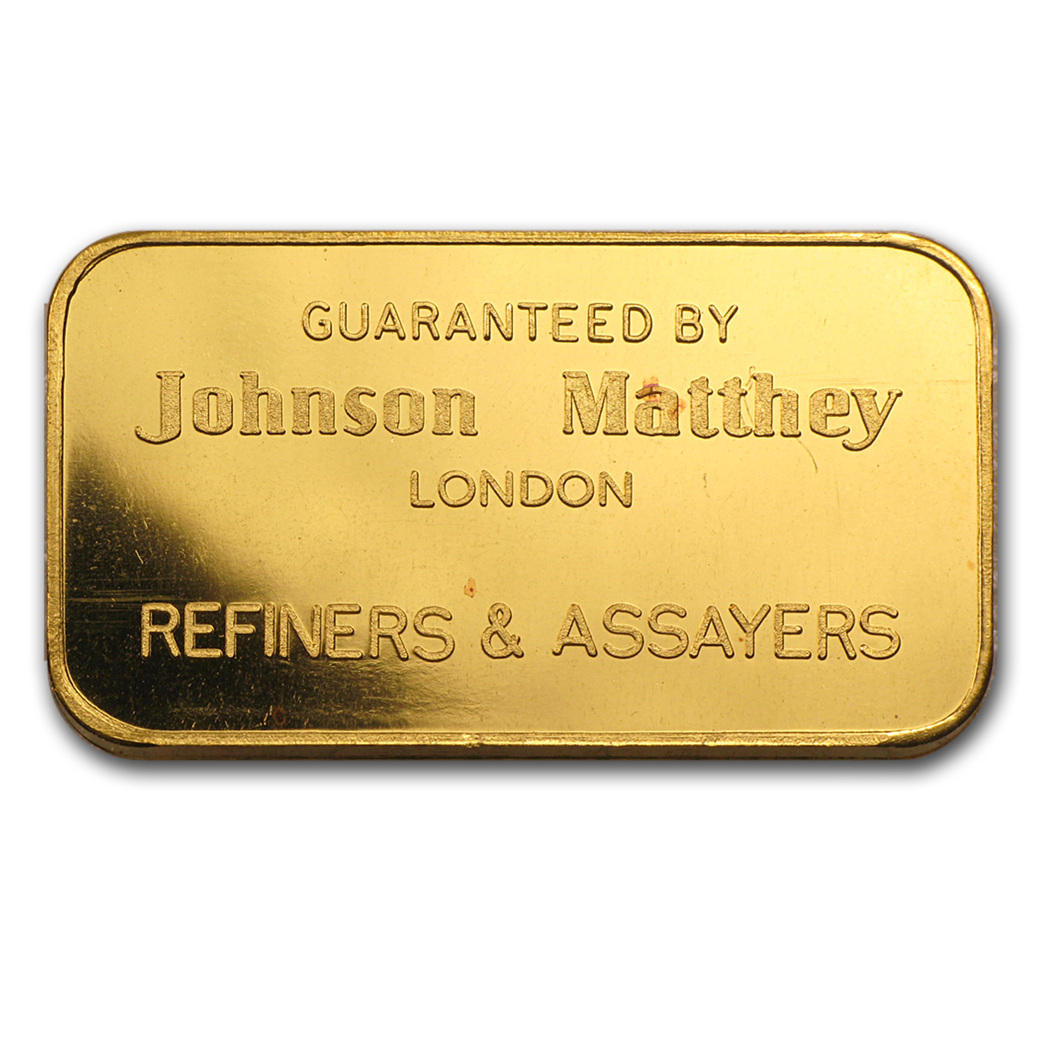 1 oz Gold Bar - Johnson Matthey-London