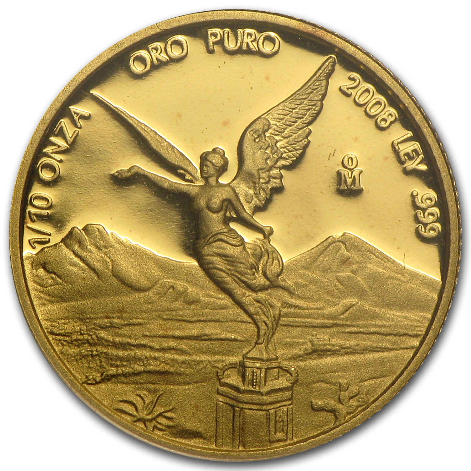 2008 Mexico 1/10 oz Proof Gold Libertad