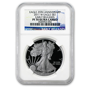 2011-W Proof Silver American Eagle PF-70 NGC (ER)