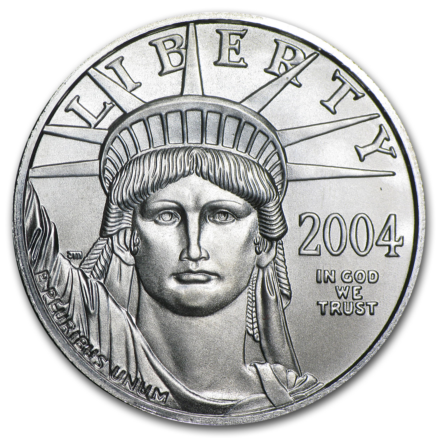 2004 1/2 oz Platinum American Eagle BU