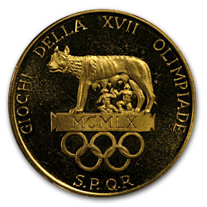 1960 Italy Gold Medal Rome Olympics