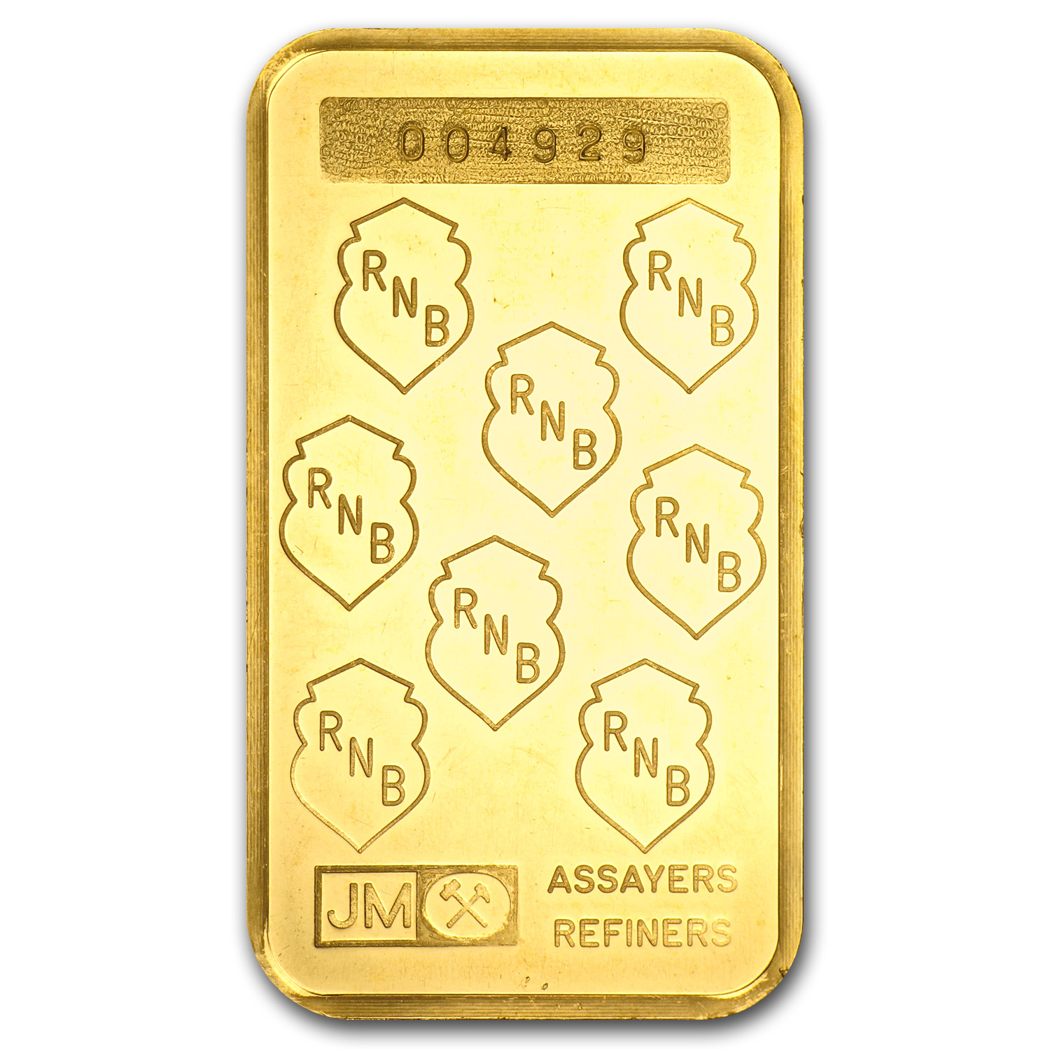 1 oz Gold Bars - Johnson Matthey (RNB)
