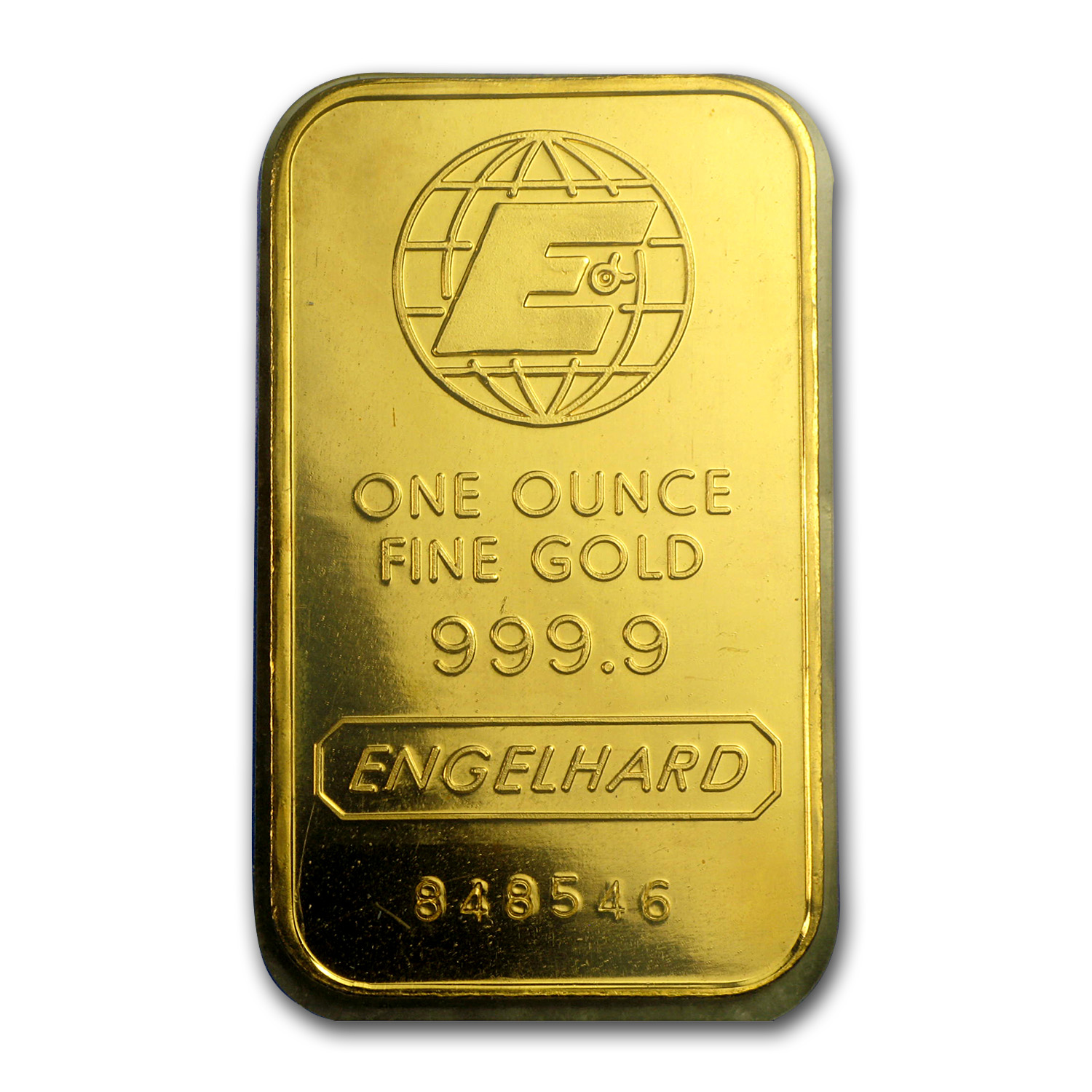 1 oz Gold Bars - Engelhard (In Assay)