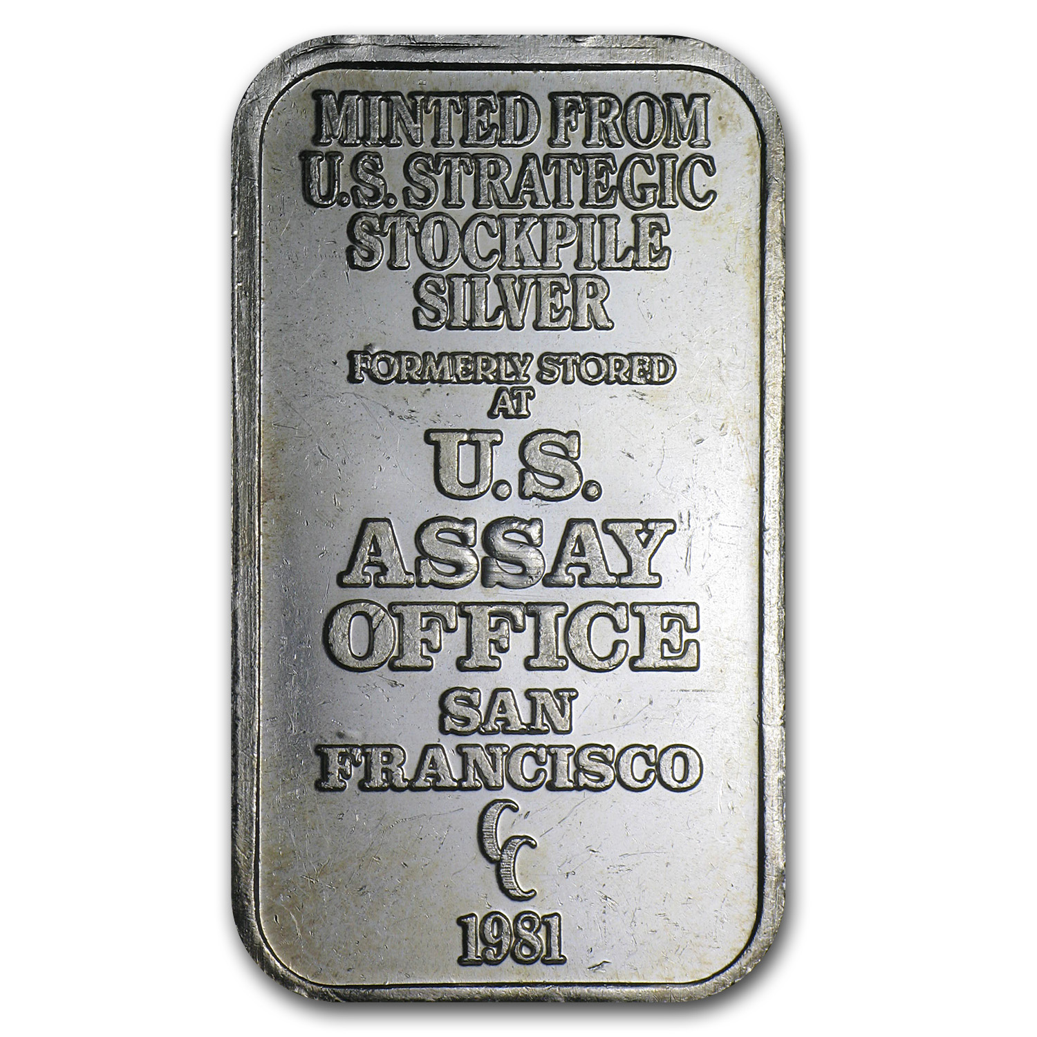 1 oz Silver Bars - U.S. Assay Office