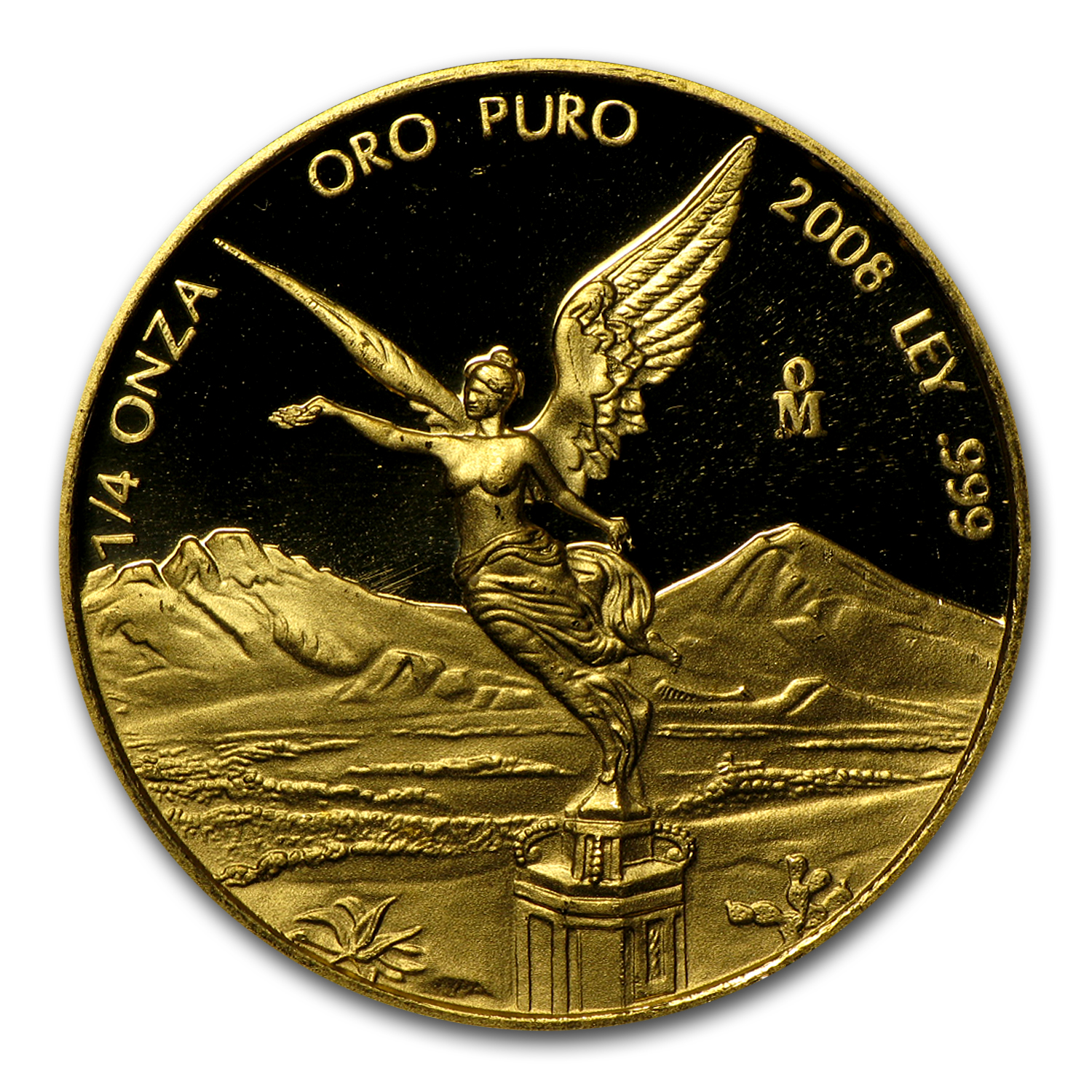 2008 Mexico 1/4 oz Proof Gold Libertad