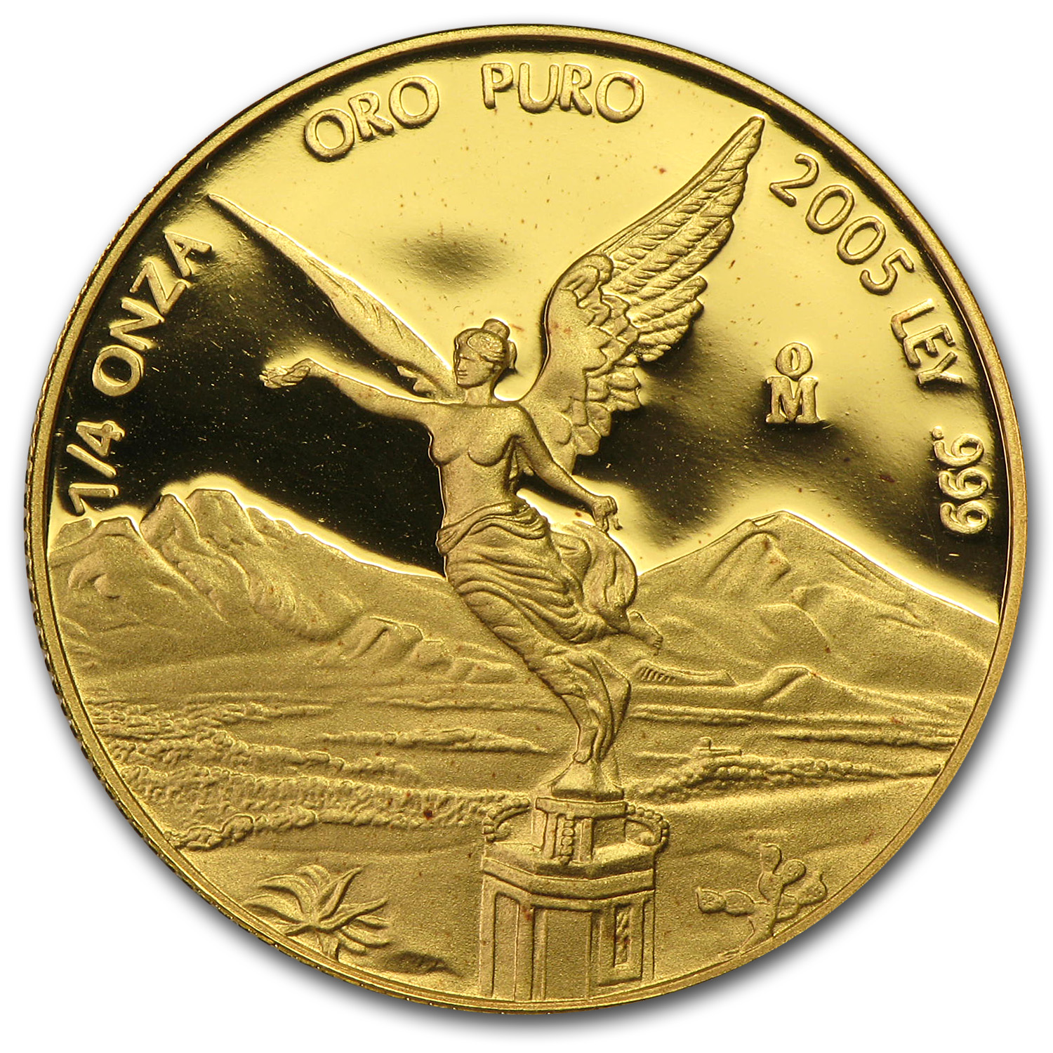 2005 Mexico 1/4 oz Proof Gold Libertad