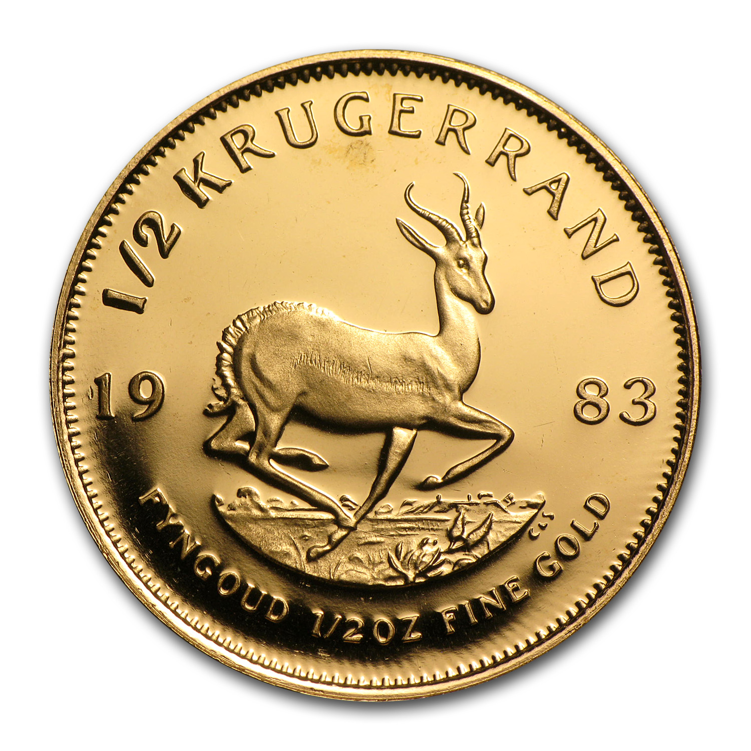 1983 South Africa 1/2 oz Proof Gold Krugerrand