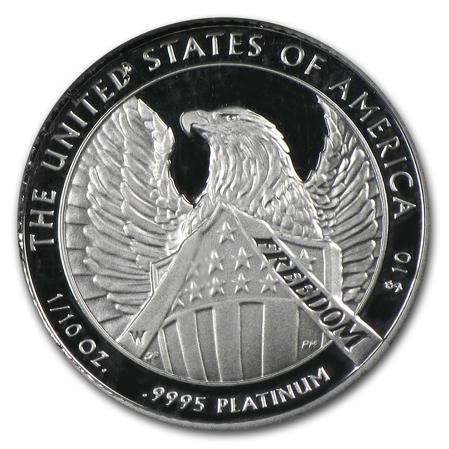2007-W 1/10 oz Proof Platinum American Eagle PF-70 NGC (ER)