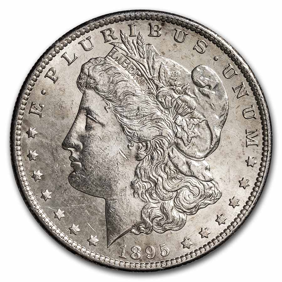 1895-S Morgan Dollar BU