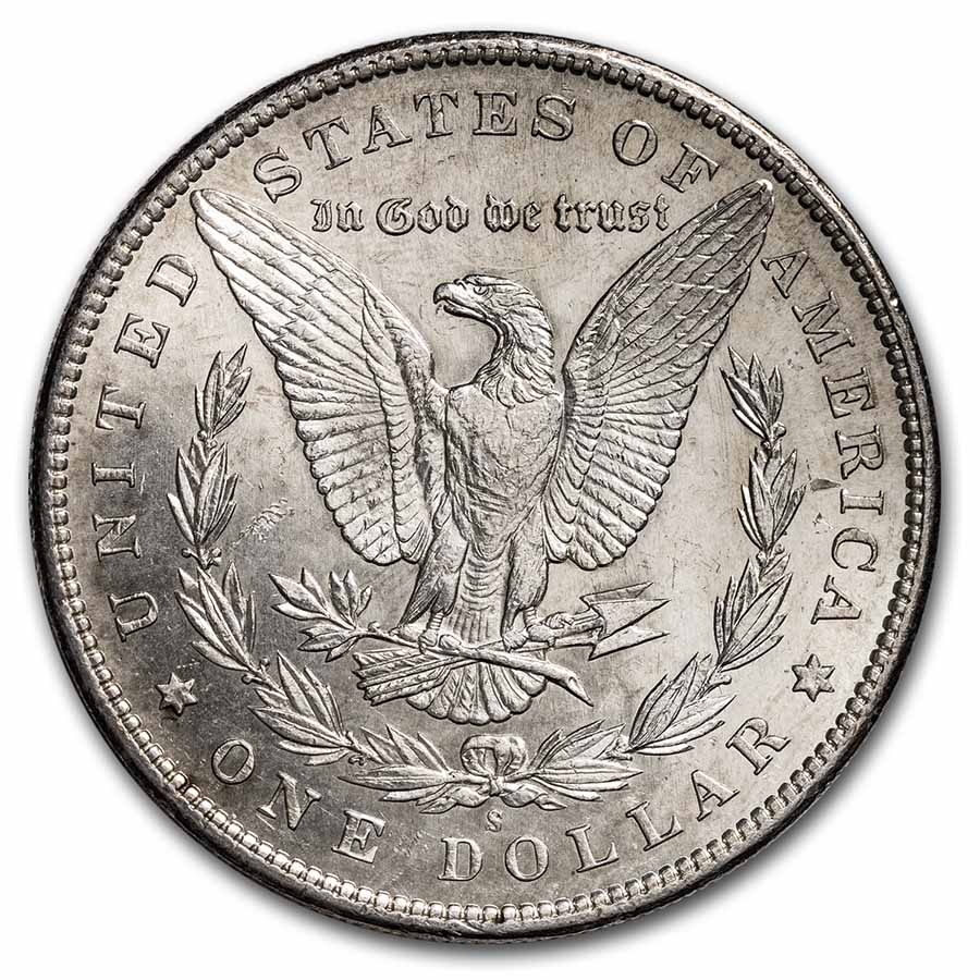1895-S Morgan Dollar - Brilliant Uncirculated