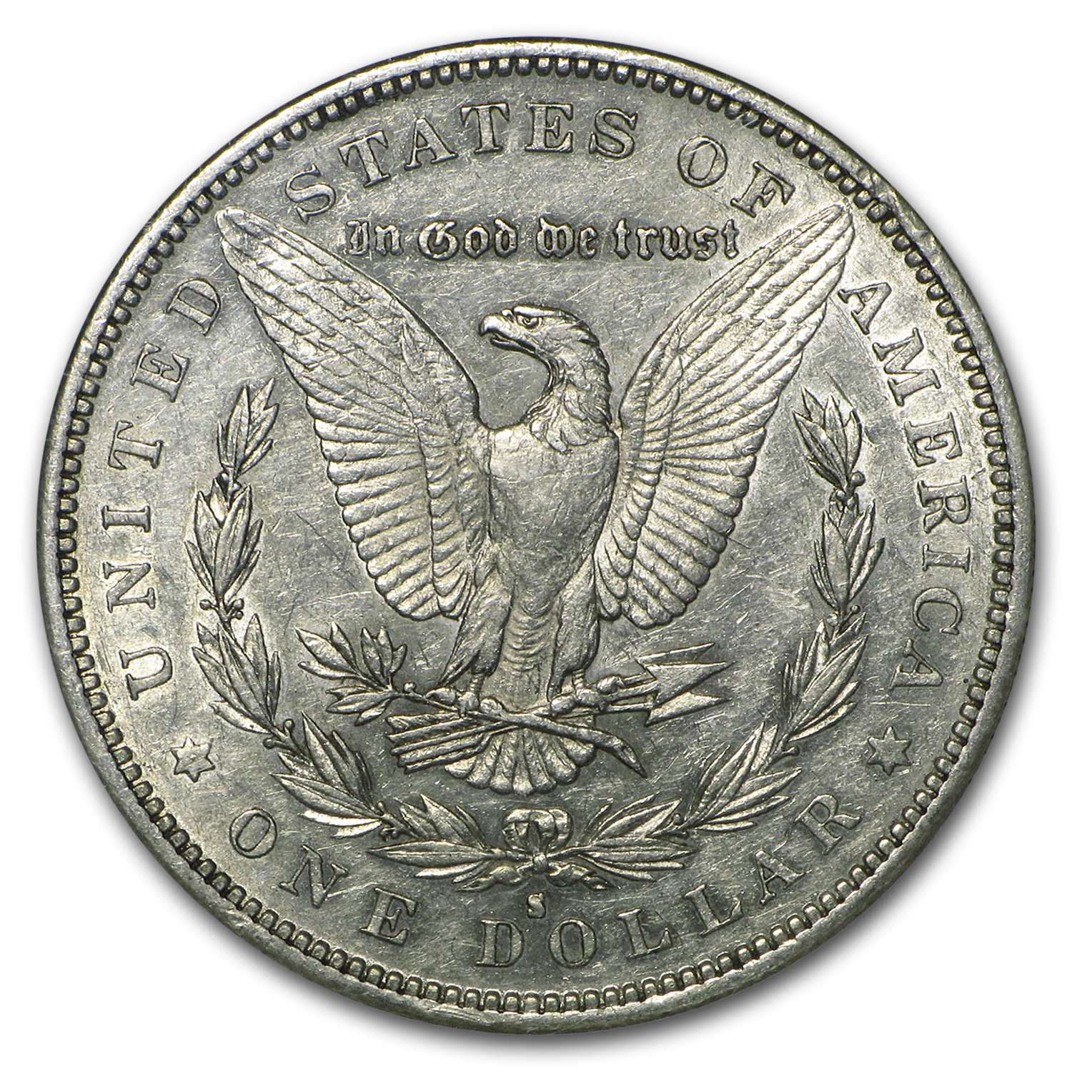 1883-S Morgan Dollar AU-53 NGC