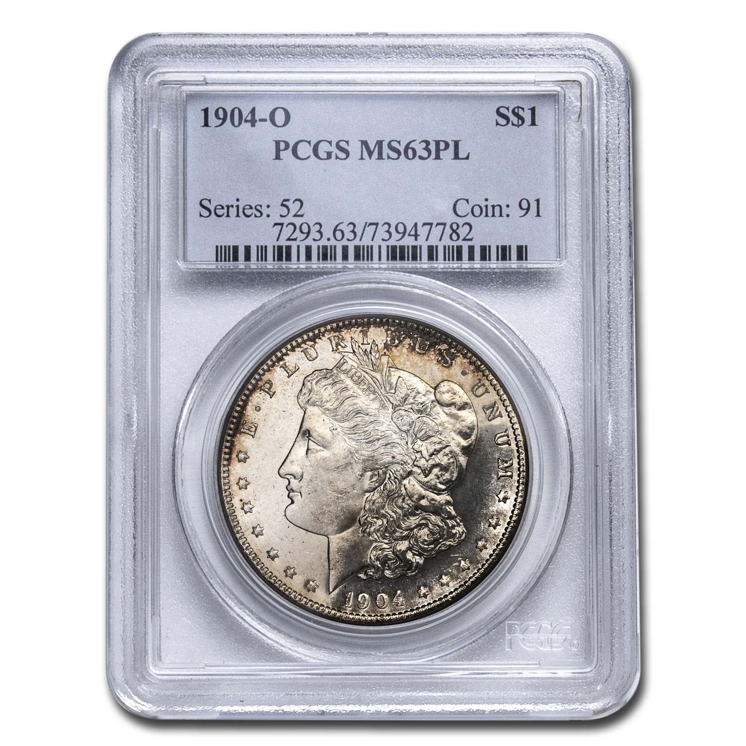 1904-O Morgan Dollar - MS-63 PL Proof Like PCGS