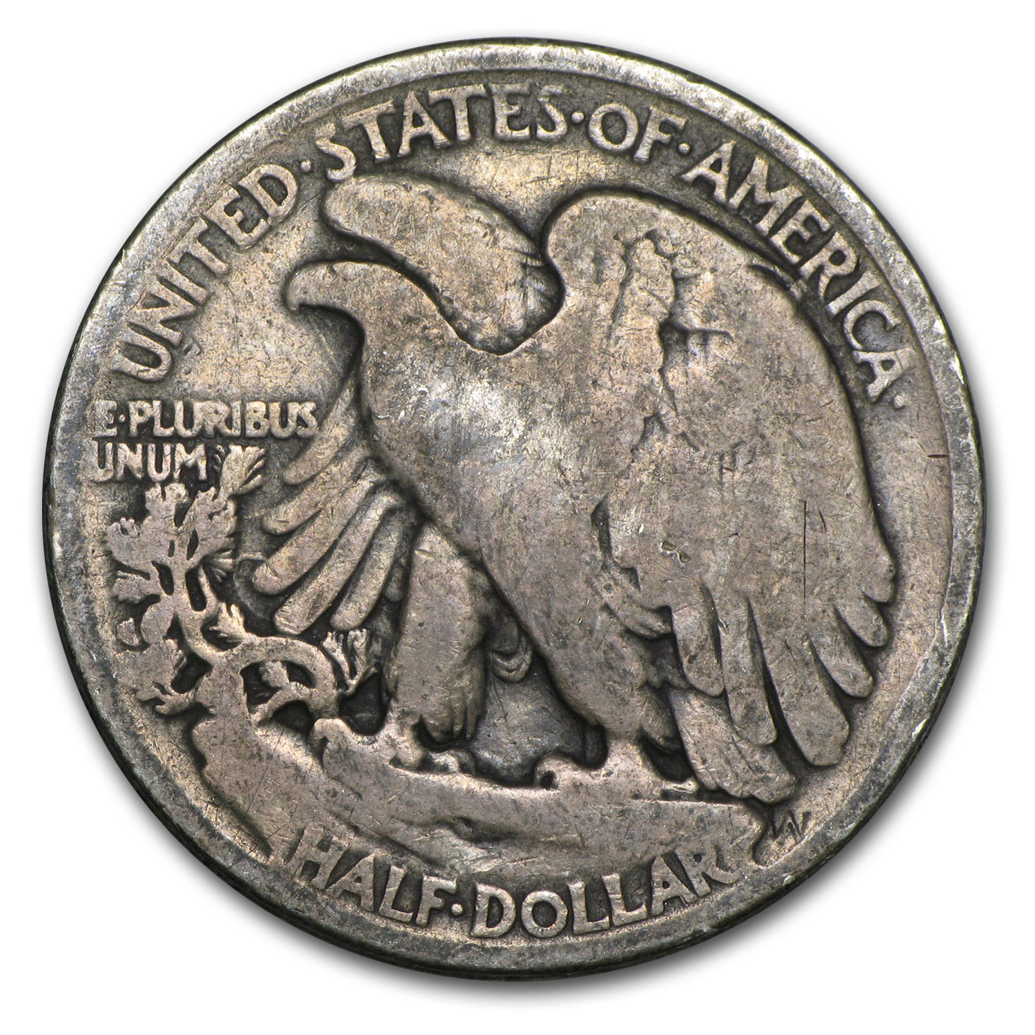 1921 Walking Liberty Half Dollar VG