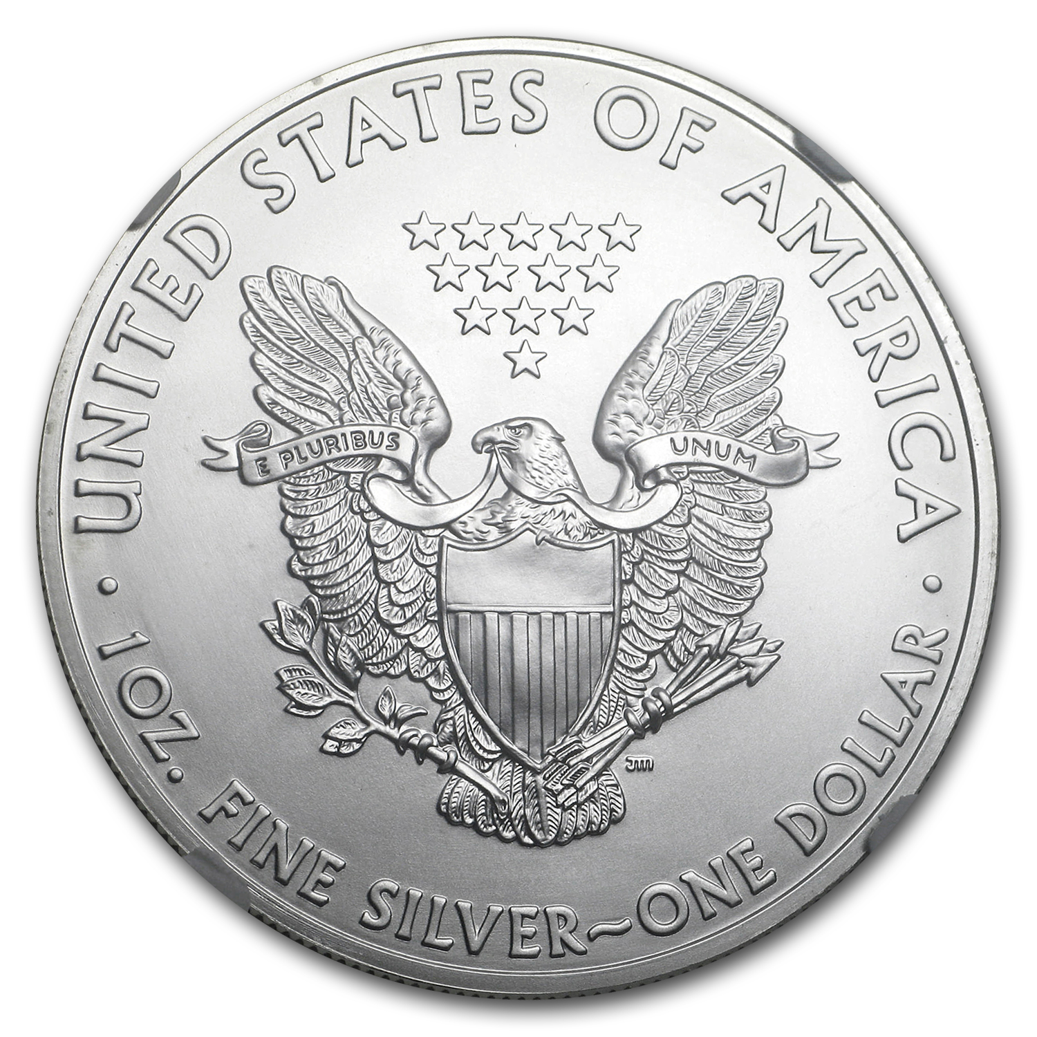 2011 (S) Silver Eagle MS-69 NGC (Golden Gate Label)