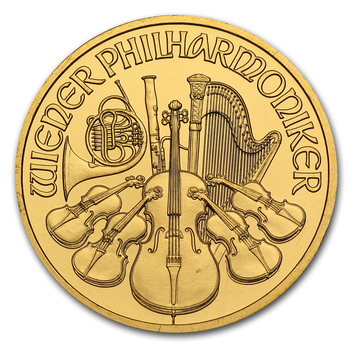 2012 1/4 oz Gold Austrian Philharmonic
