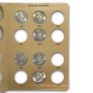 1878-1921 52-Coin Morgan Dollar Set BU (Dansco Album)