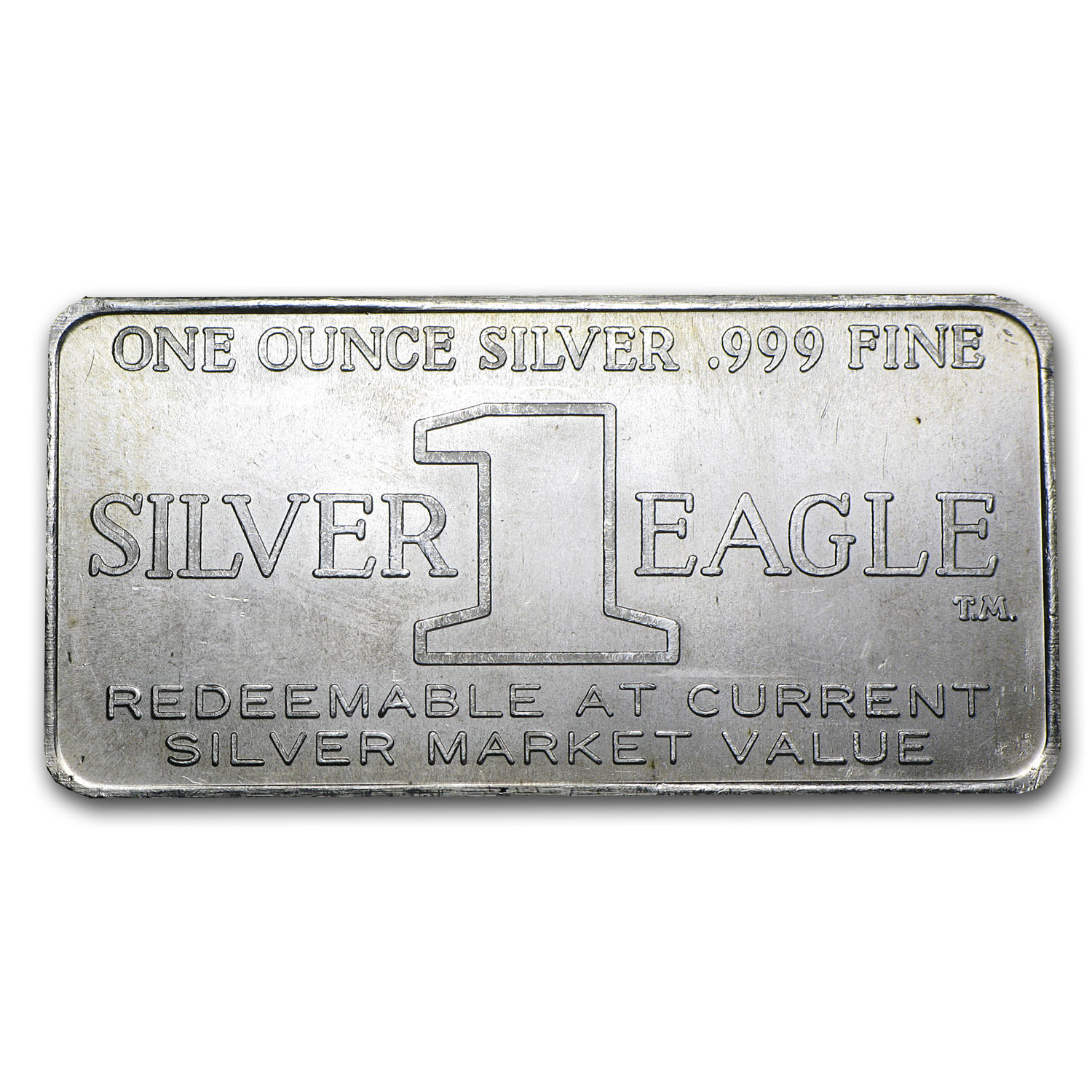 1 oz Silver Bars - Silver Eagles Nest