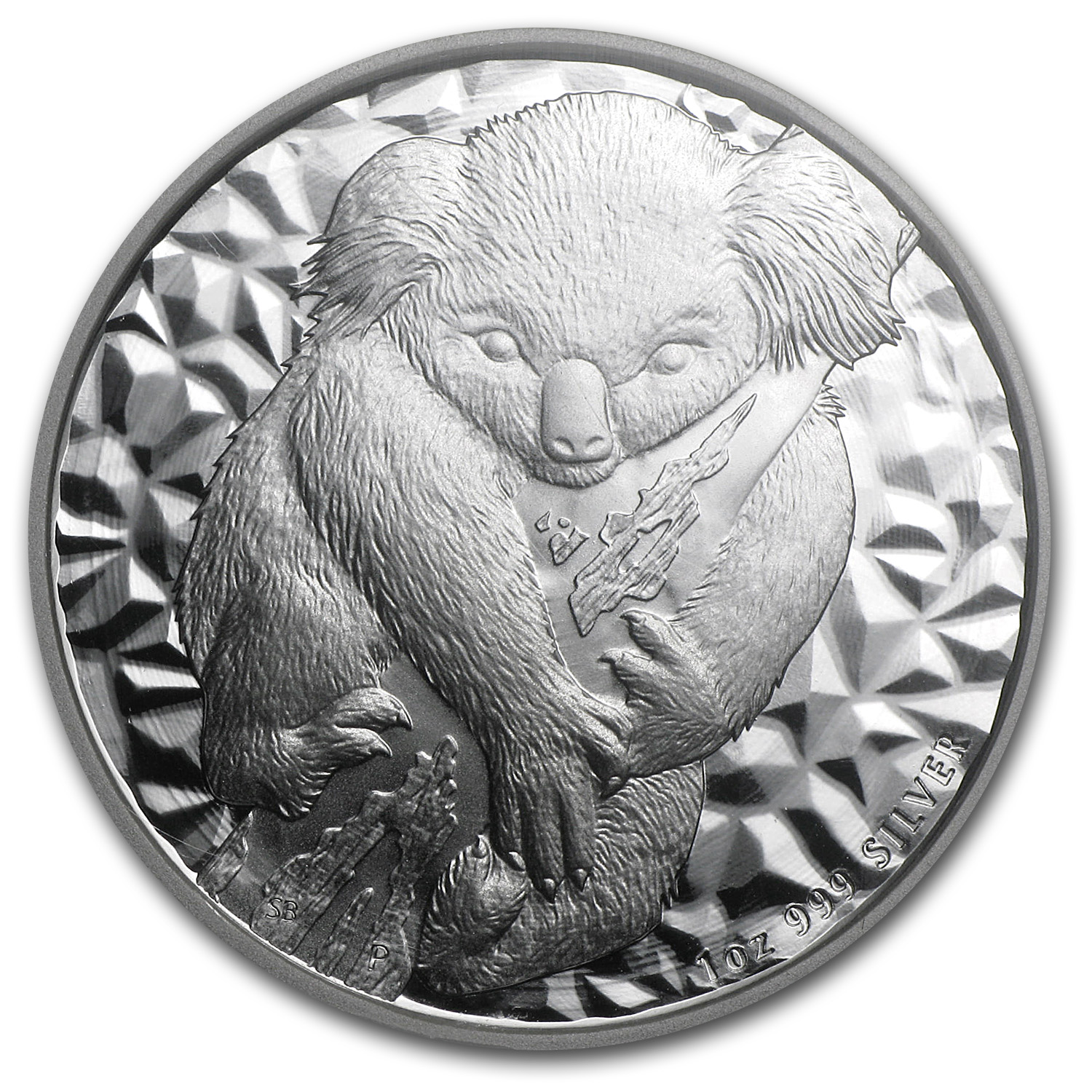 2007 1 oz Silver Australian Koala - MS-70 NGC First Year of Issue
