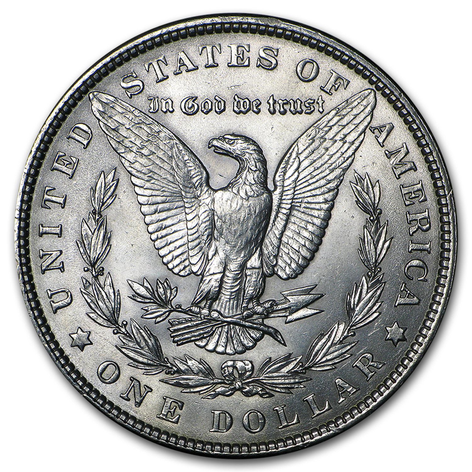 1901 Morgan Dollar AU-58