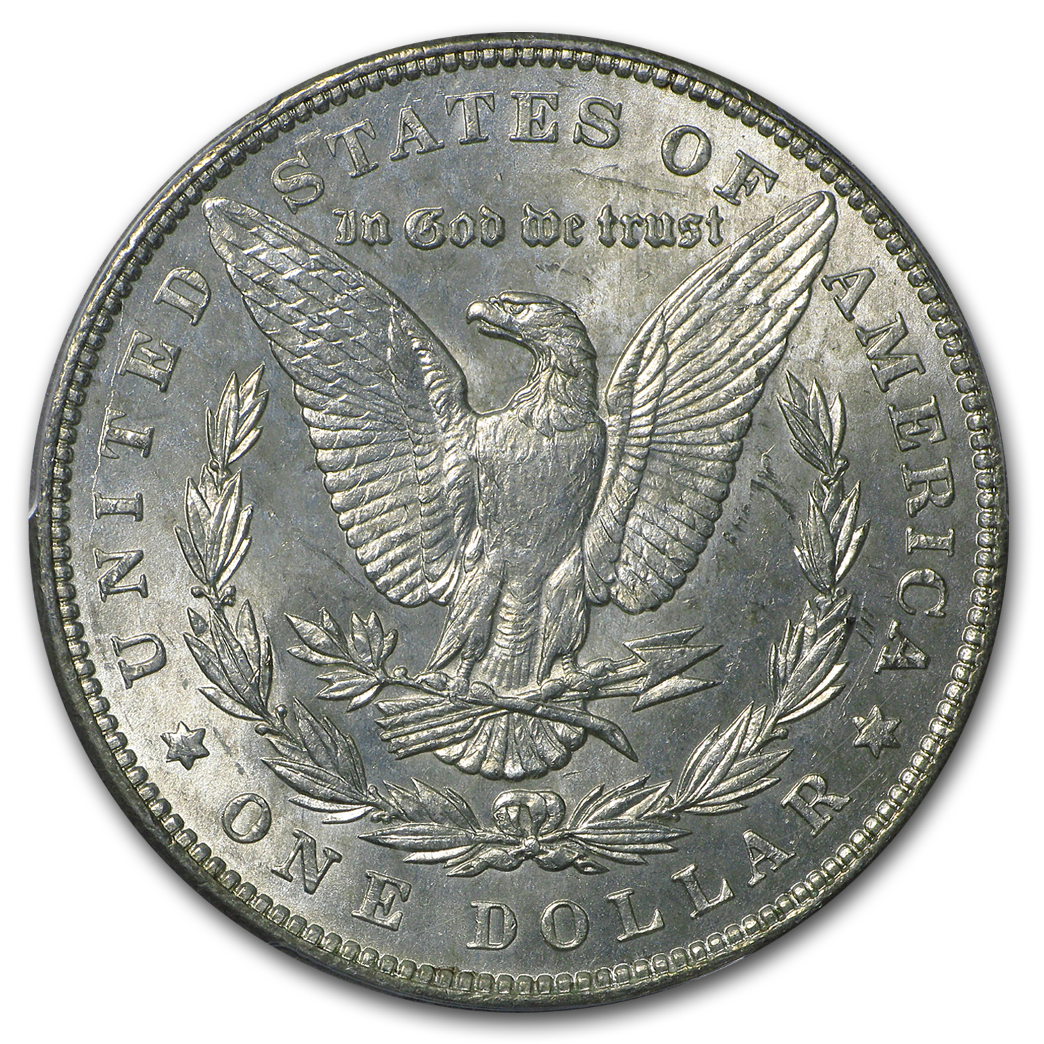 1887/6 Morgan Dollar BU (VAM-2, Overdate, Top-100)