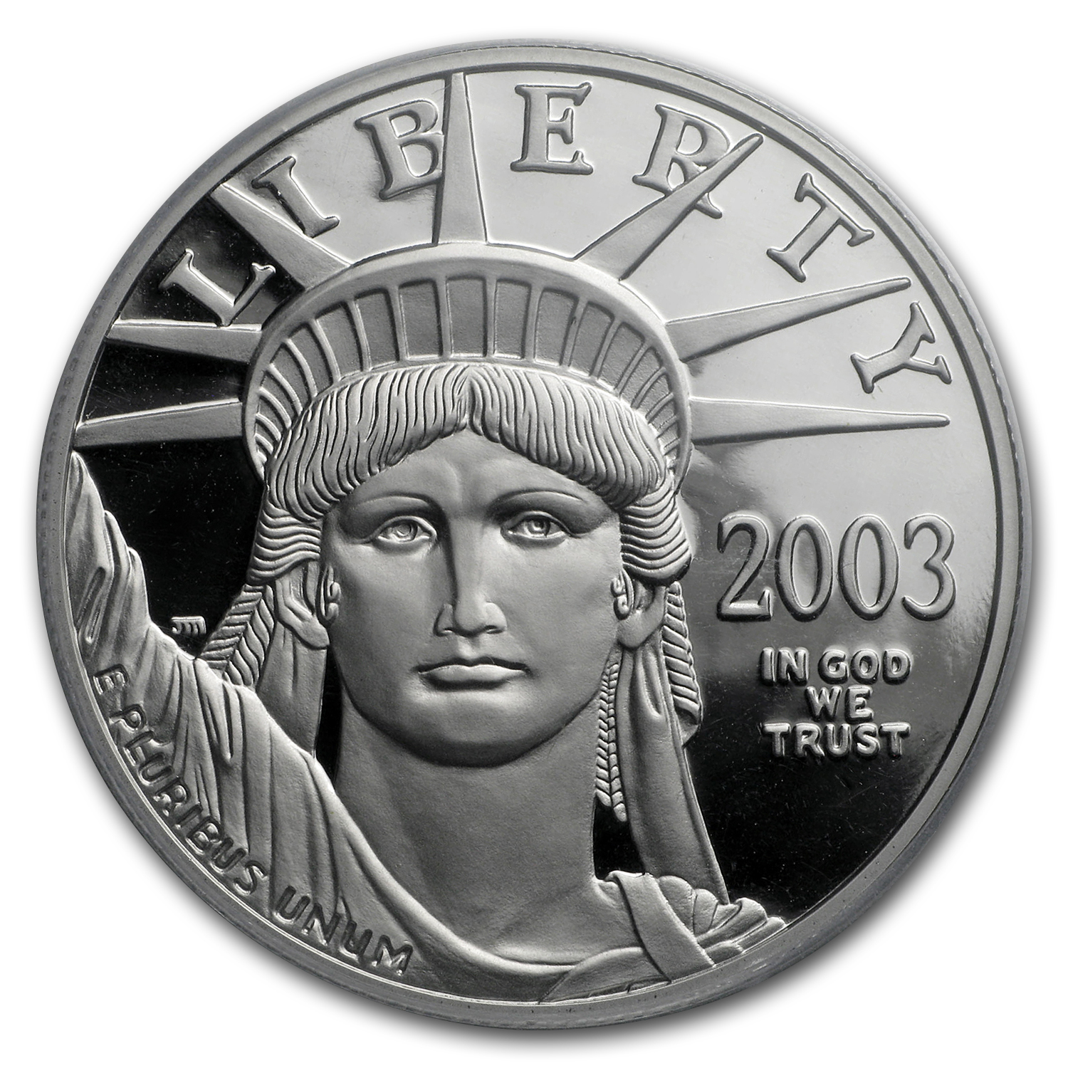 2003-W 1 oz Proof Platinum American Eagle PR-70 PCGS