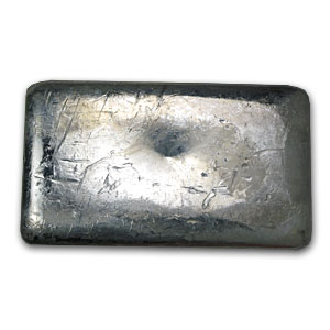 10 Oz Silver Bar Johnson Matthey Poured Canada 10 Oz