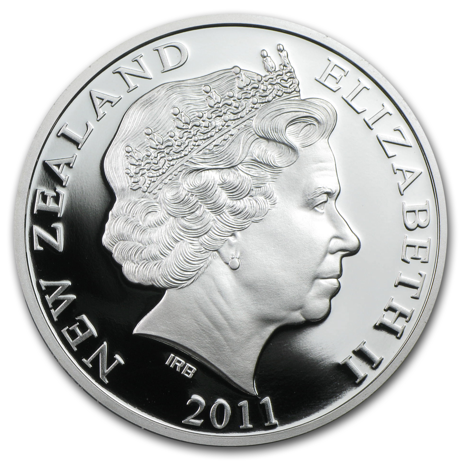 2011 1 oz Silver New Zealand Icons $1 Kiwi Proof