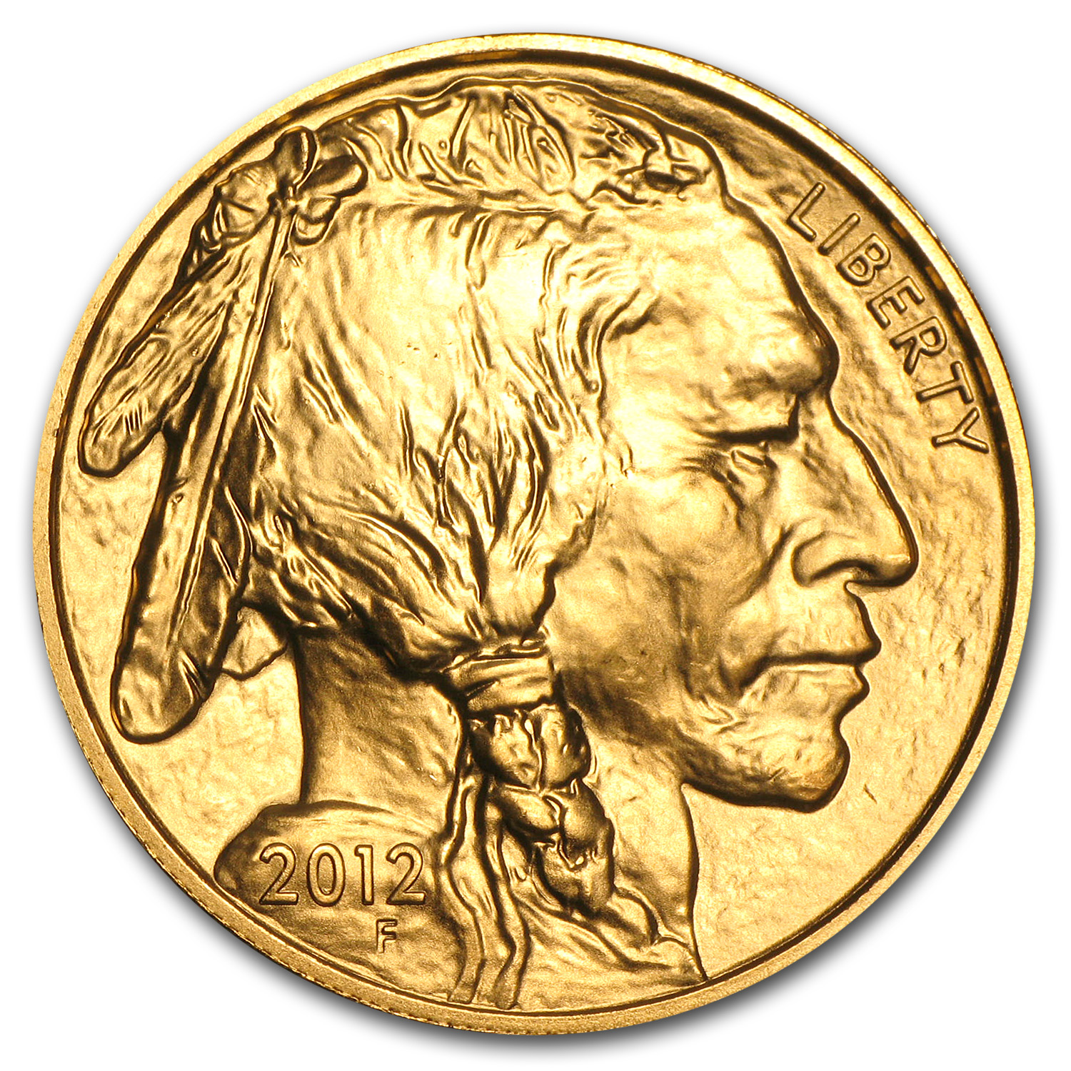 2012 1 oz Gold Buffalo BU