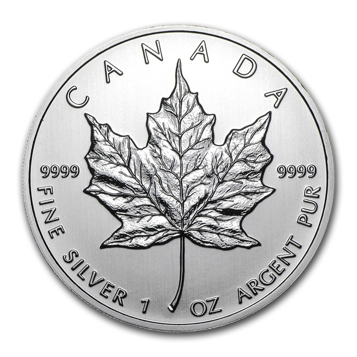 2012 Silver Maple Leaf (25-Coin MintDirect® Tube)