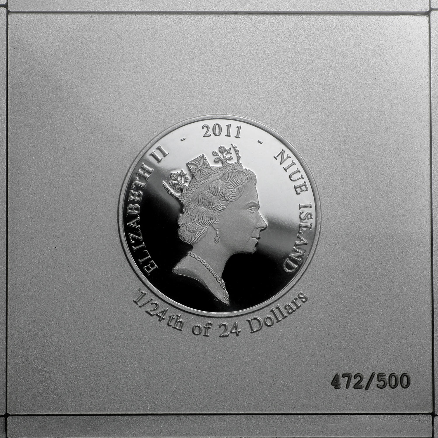 2011 Niue 24-Piece Silver da Vinci Codex Set (32.79 oz)