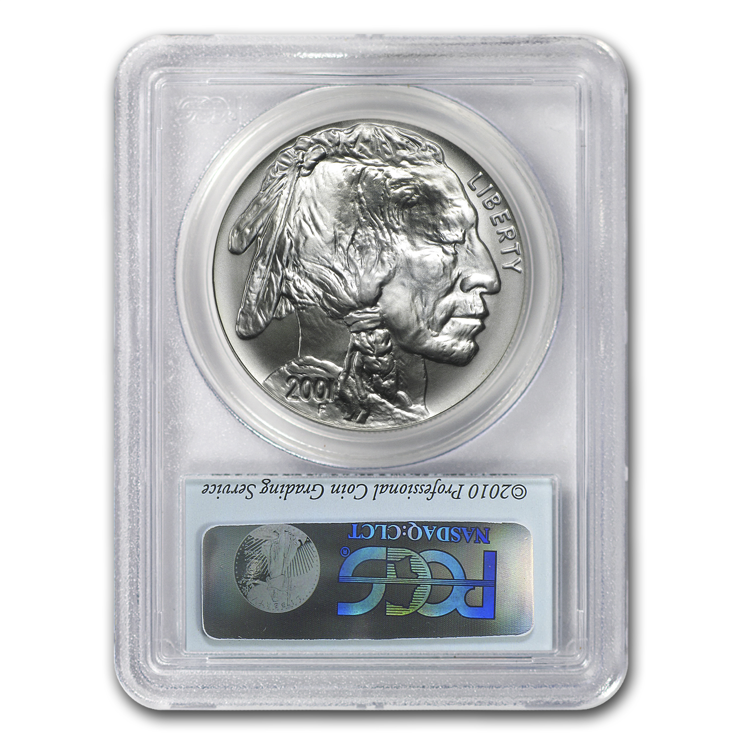 2001-D Buffalo - Black Diamond $1 Silver Commemorative MS-69 PCGS