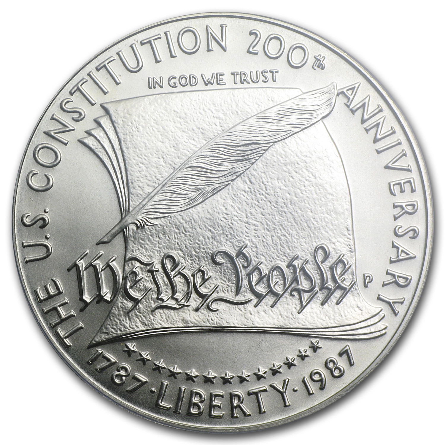 1987-P Constitution $1 Silver Commemorative - MS-70 PCGS
