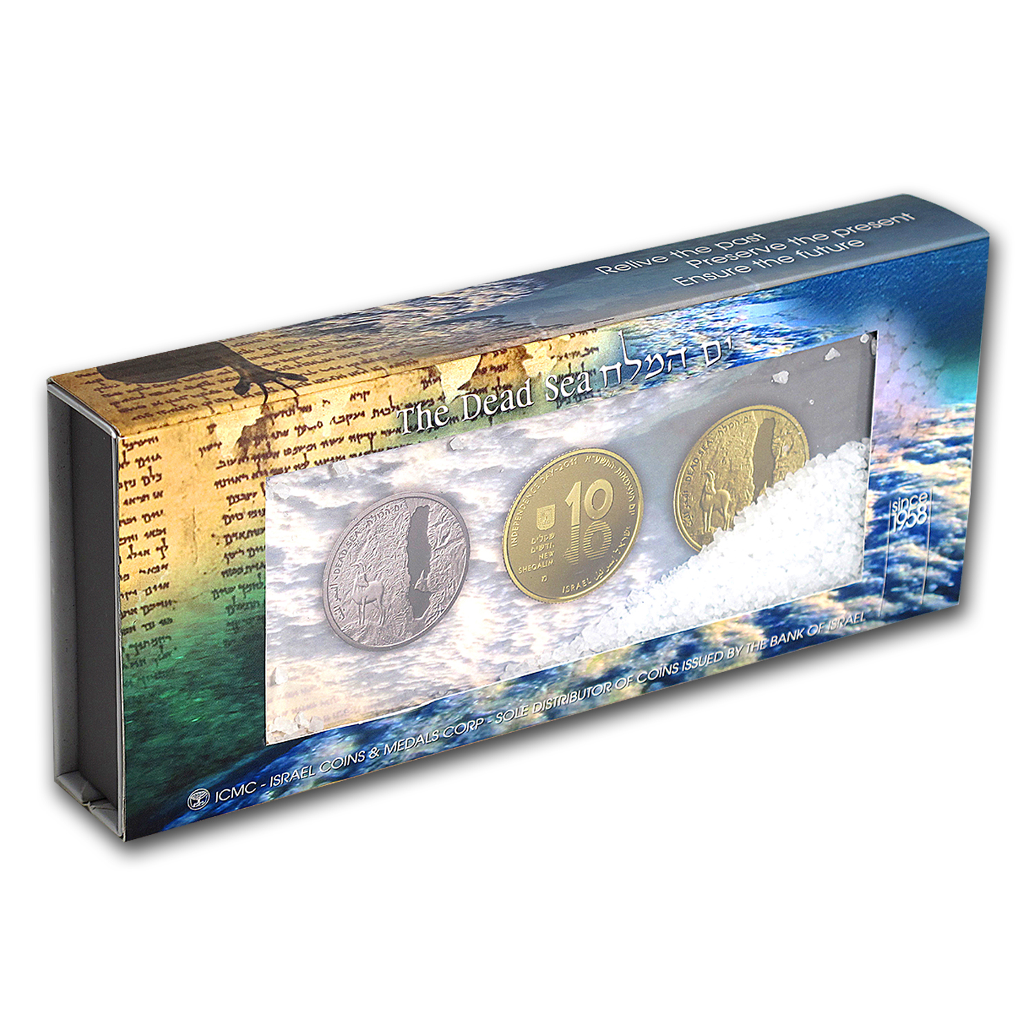2011 Israel Silver 2 NIS Dead Sea Proof (w/Box & COA)