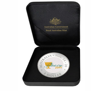 2011 Australia 1 oz Silver President's Cup Proof