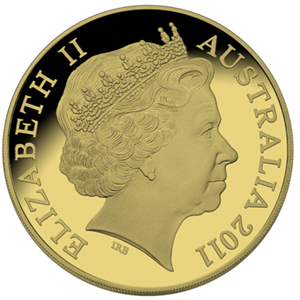2011 Australia 1/4 oz Proof Gold $25 Presidents Cup