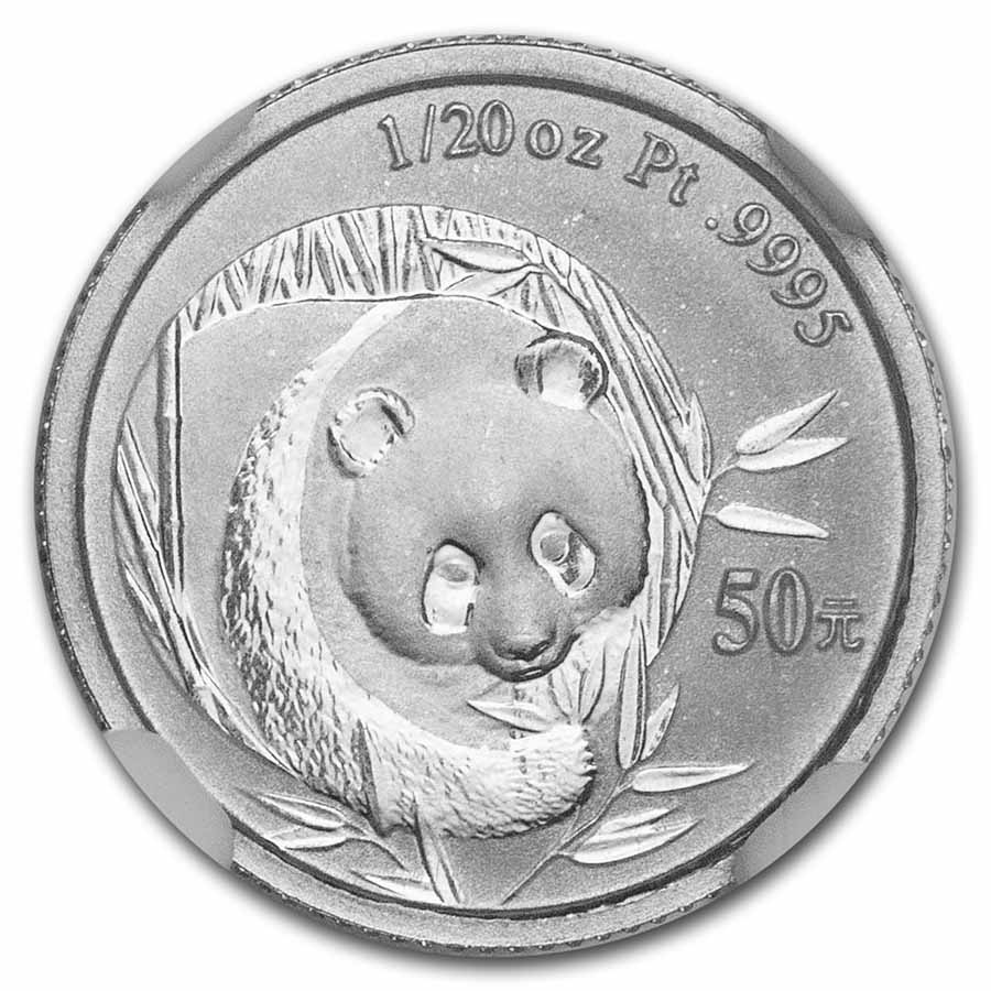 2003 1/20 oz Proof Platinum Chinese Panda PF-69 NGC