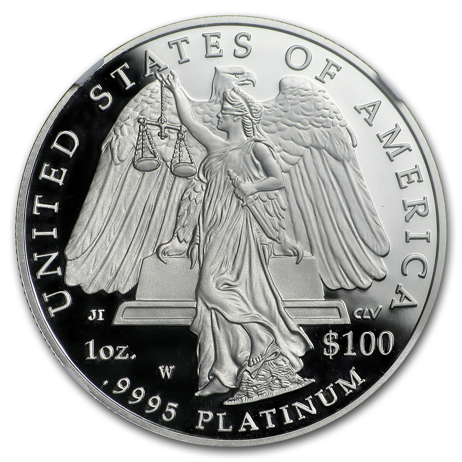 2008-W 1 oz Proof Platinum Eagle PF-70 NGC (ER)