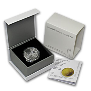 2008 Israel Parting of the Sea Proof-Like Silver 1 NIS(Box & CoA)