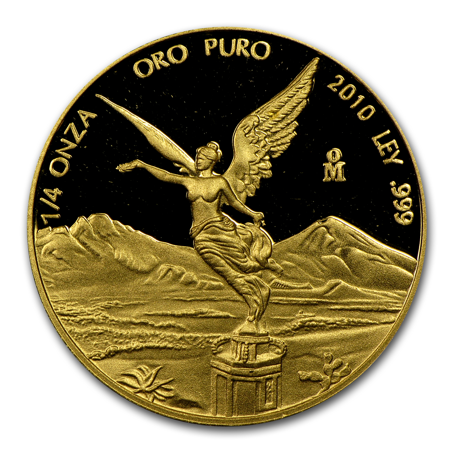 2010 Mexico 1/4 oz Proof Gold Libertad