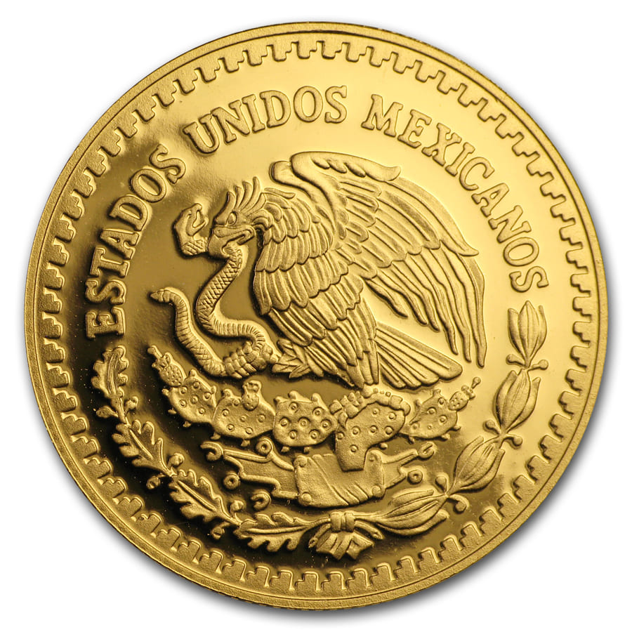 2010 Mexico 1/2 oz Proof Gold Libertad