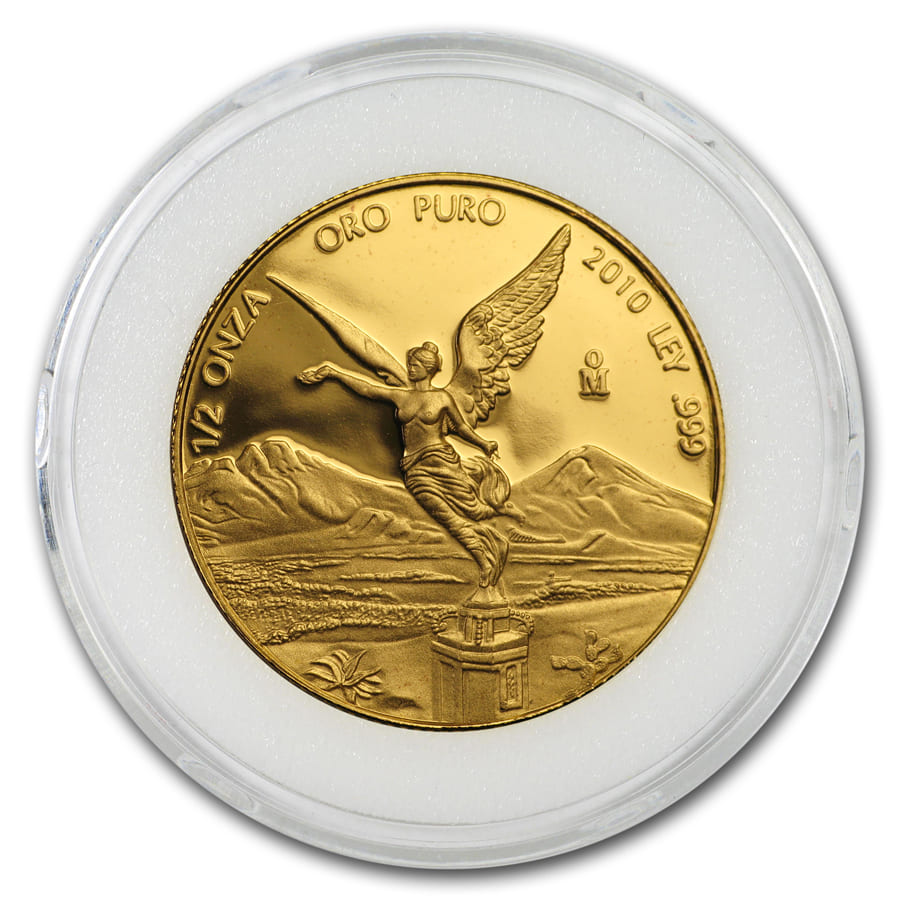 2010 1/2 oz Gold Mexican Libertad Proof