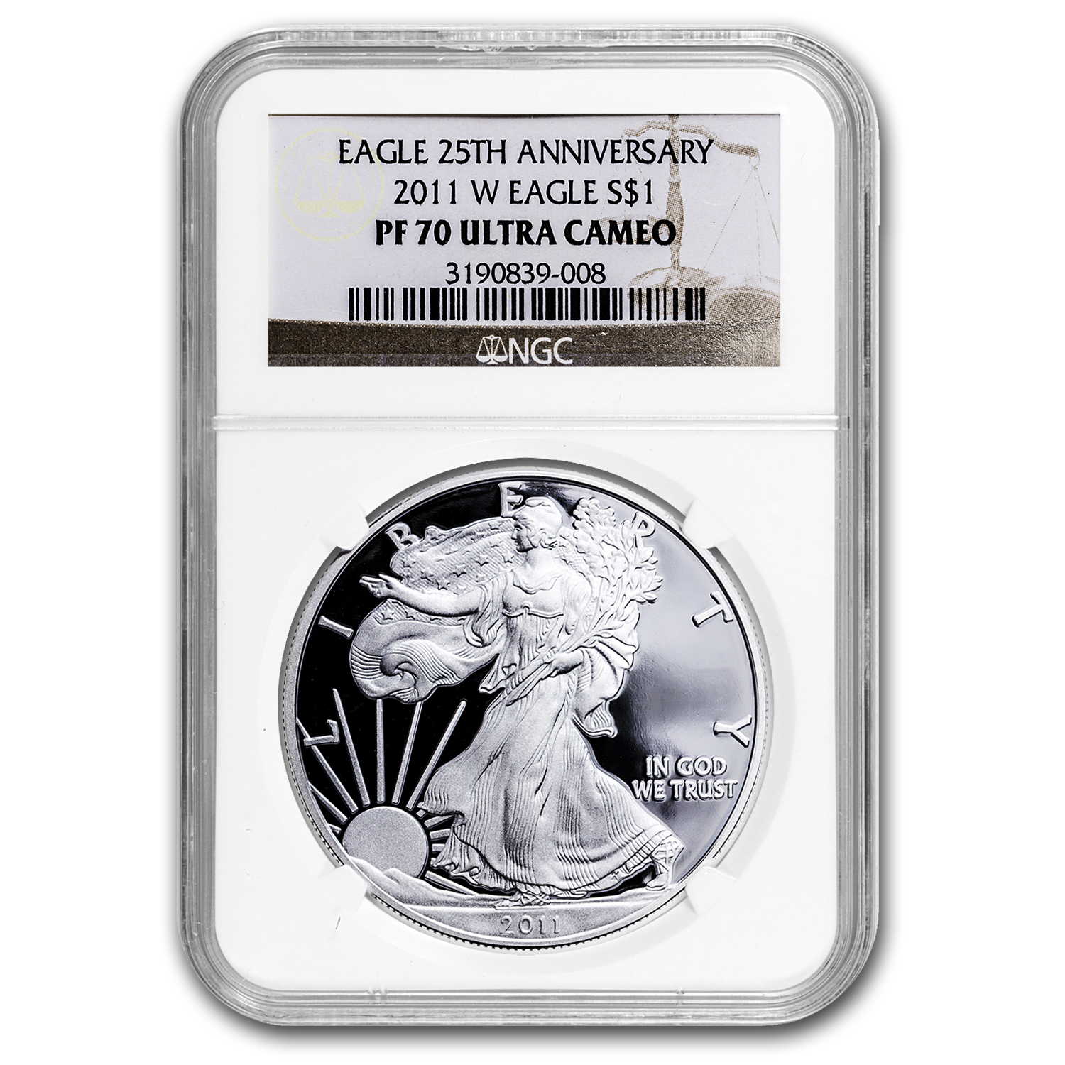 2011-W Proof Silver American Eagle PF-70 NGC