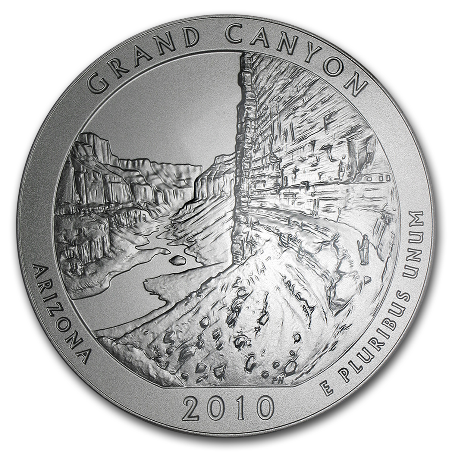 2010-P 5 oz Silver ATB Grand Canyon SP-70 PCGS (Roosevelt)