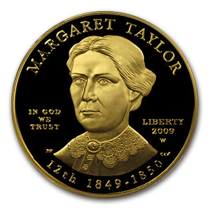 2009-W 1/2 oz Proof Gold Margaret Taylor PR-69 PCGS DCAM