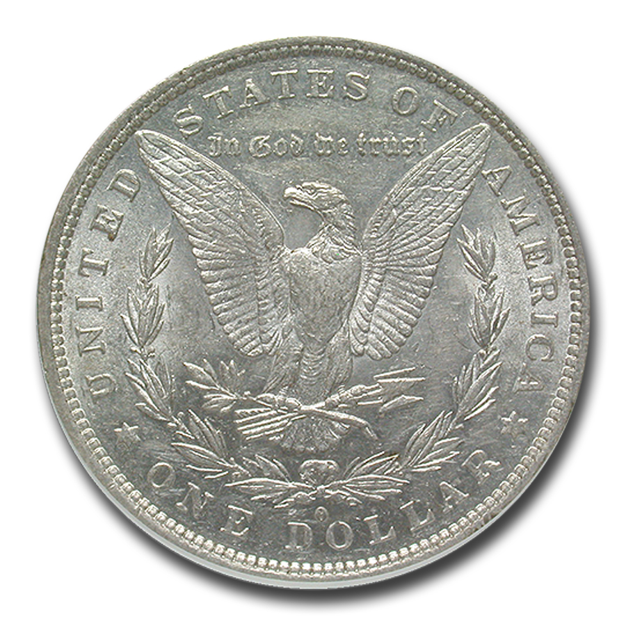 1882-O/S Morgan Dollar AU-58 NGC (VAM-5, EDS, Top-100)