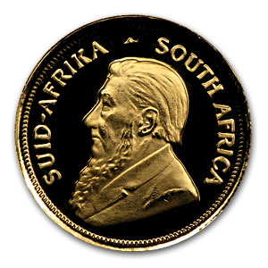 1991 South Africa 1/10 oz Proof Gold Krugerrand