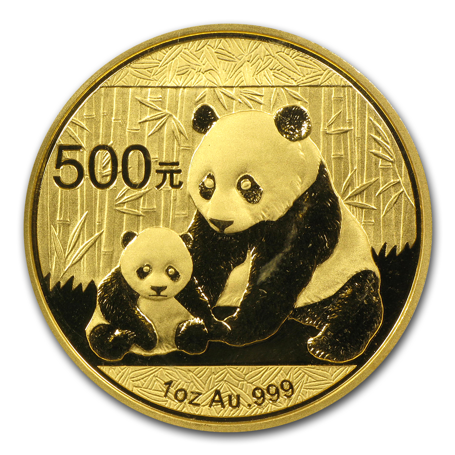 2012 China 1 oz Gold Panda BU (Sealed)
