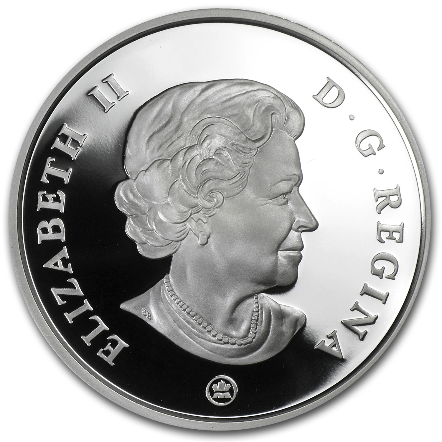 2009 1 oz Canadian Vignettes of Royalty Ultra High Relief